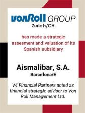 vonroll aismalibar valuation valoracion